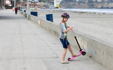 Travel gear: Scooters for kids