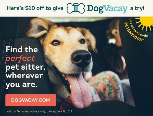 DogVacay promo code