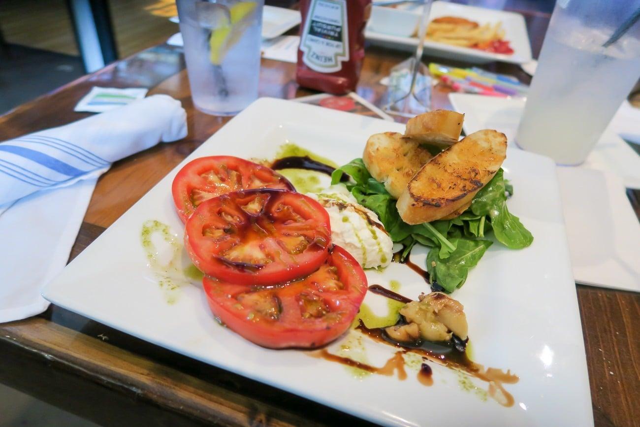 Buffala salad at East Tavern + Bowl