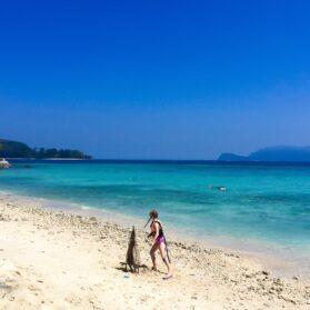 Finding Nemo Snorkeling Around Mamutik Island in Borneo