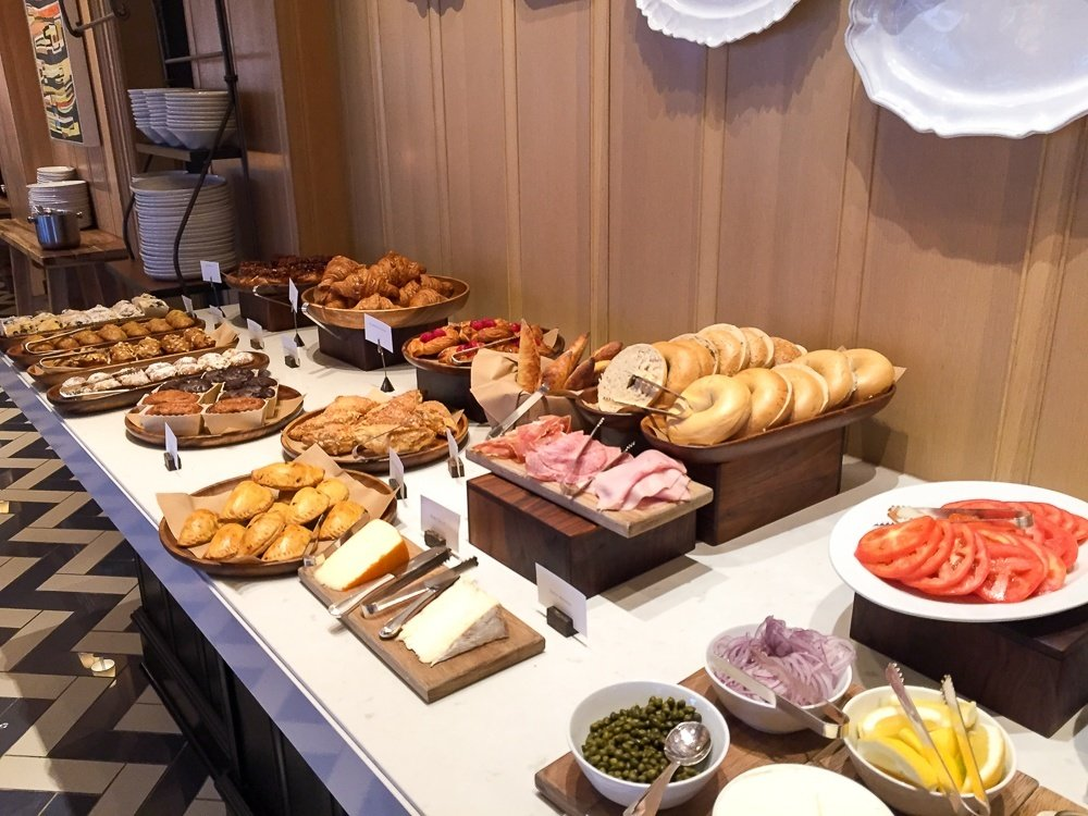 California Bistro breakfast buffet at Park Hyatt Aviara Resort in Carlsbad