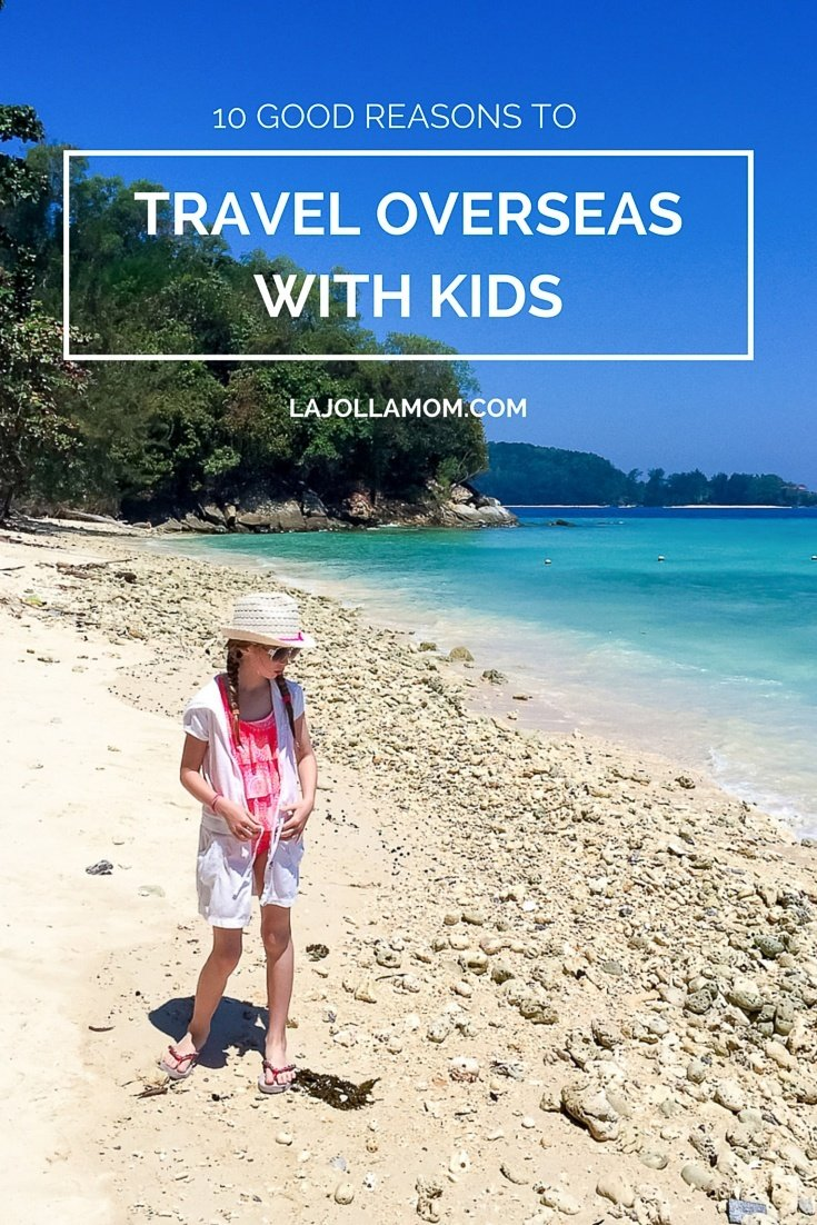 Traveling overseas with kids is easier than you think. Here's why.