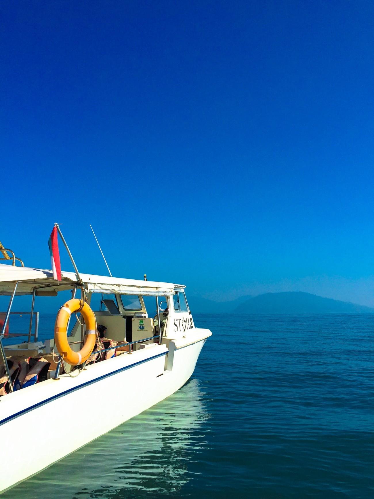 Shangri-la's Tanjung Aru Resort and Spa STAR Marina boat