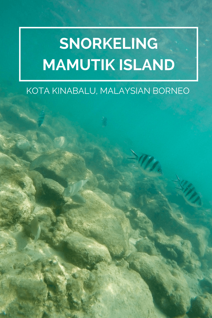Our day of snorkeling around Mamutik Island was a more exclusive experience as a guest of Shangri'la's Tanjung Aru Resort and Spa and one of our most memorable days in Kota Kinabalu.