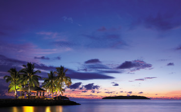 At some point in your life, you must watch a Borneo sunset from Sunset Bar at Shangri-la's Tanjung Aru Resort and Spa in Kota Kinabalu