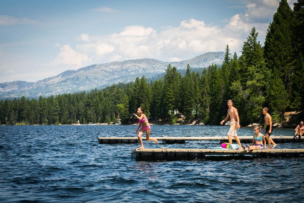 Water activities in Idaho with kids