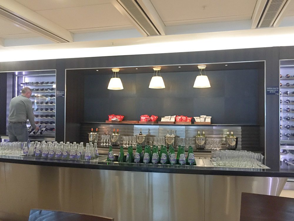 The British Airways Galleries Club in Heathrow Terminal 5
