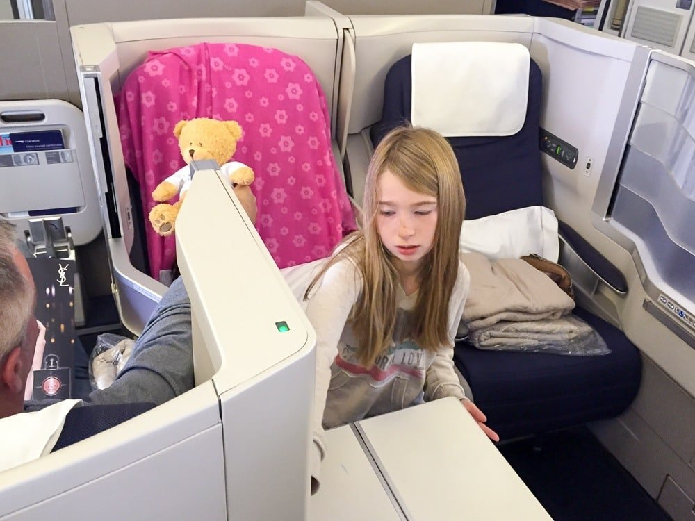 Club World middle seats on a British Airways 777 from San Diego to London