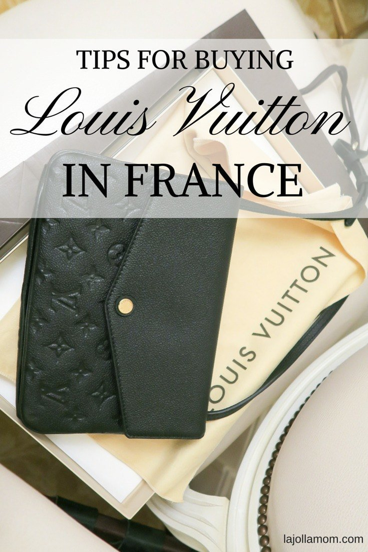Is it Less Expensive to Buy Louis Vuitton in France  - La Jolla Mom 1cb33818c2efa