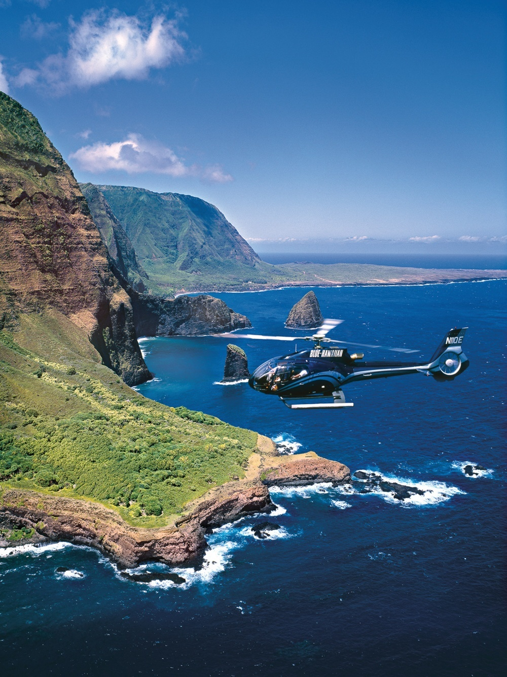 Take a spectacular Maui island helicopter tour during your next Hawaii vacation