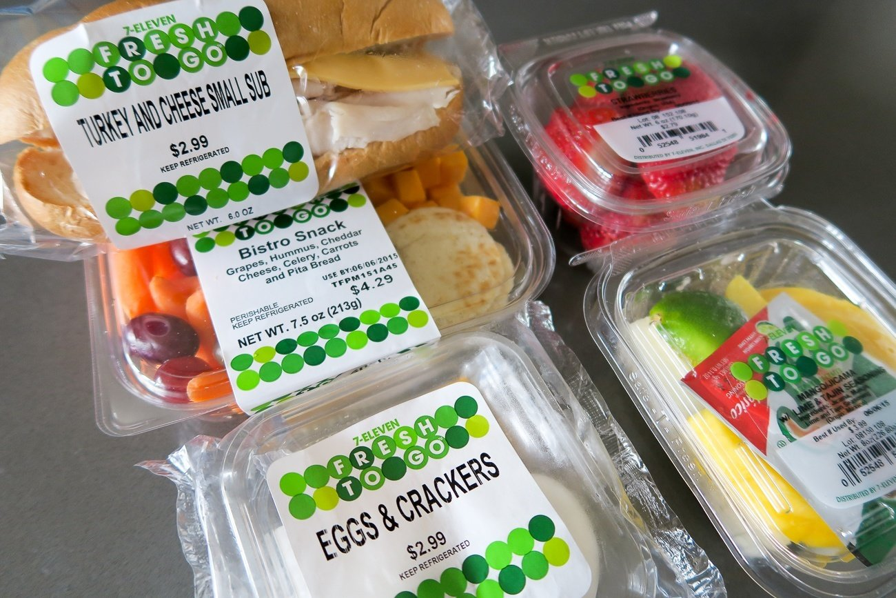 Fresh and healthy convenience store snacks from 7-Eleven