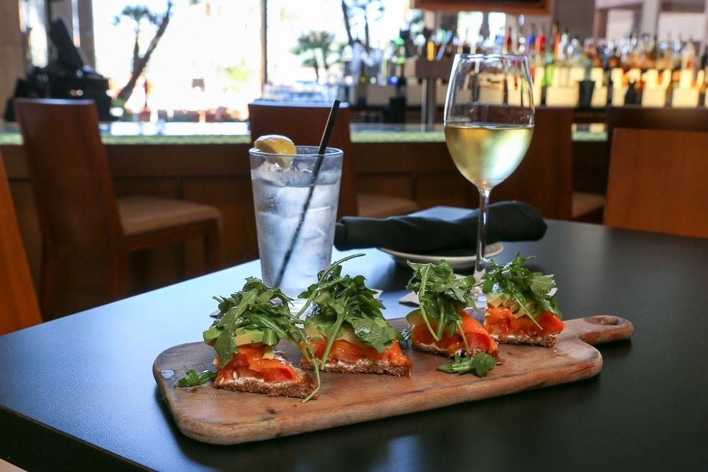 Avocado toast at Renaissance Indian Wells Resort and Spa