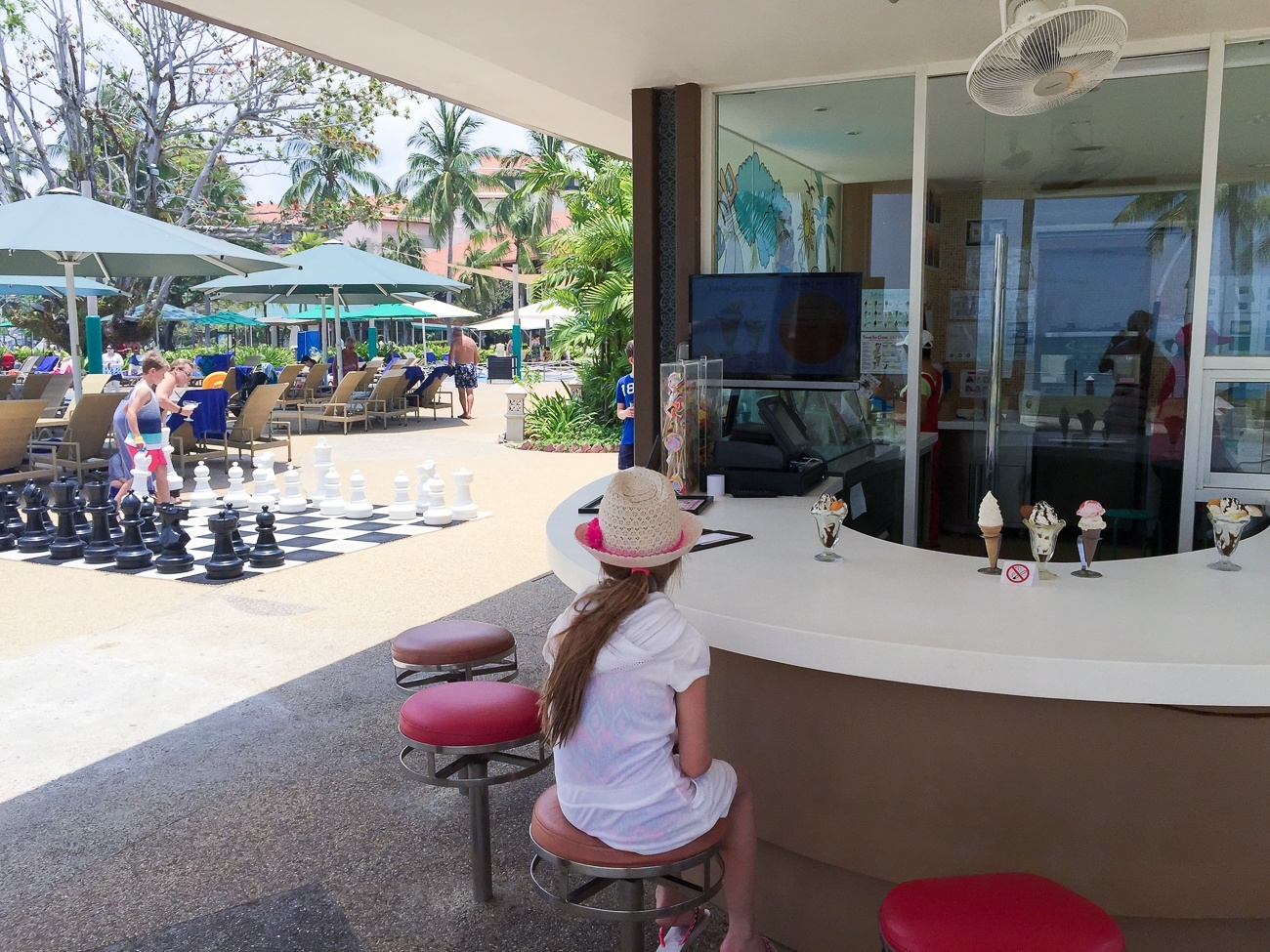 Kid-friendly amenities at Shangri-la's Tanjung Aru Resort and Spa include onsite games, an ice cream shop, a kids' club, awesome pool area and more.