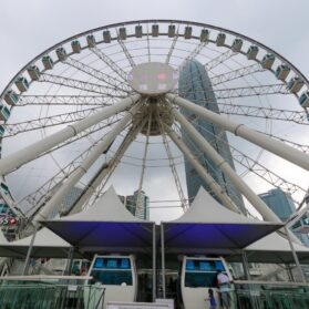 What It's Like to Take a Spin in the Hong Kong Observation Wheel