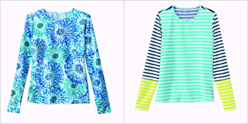 Lands' End swim tees can be worn in the water or every day
