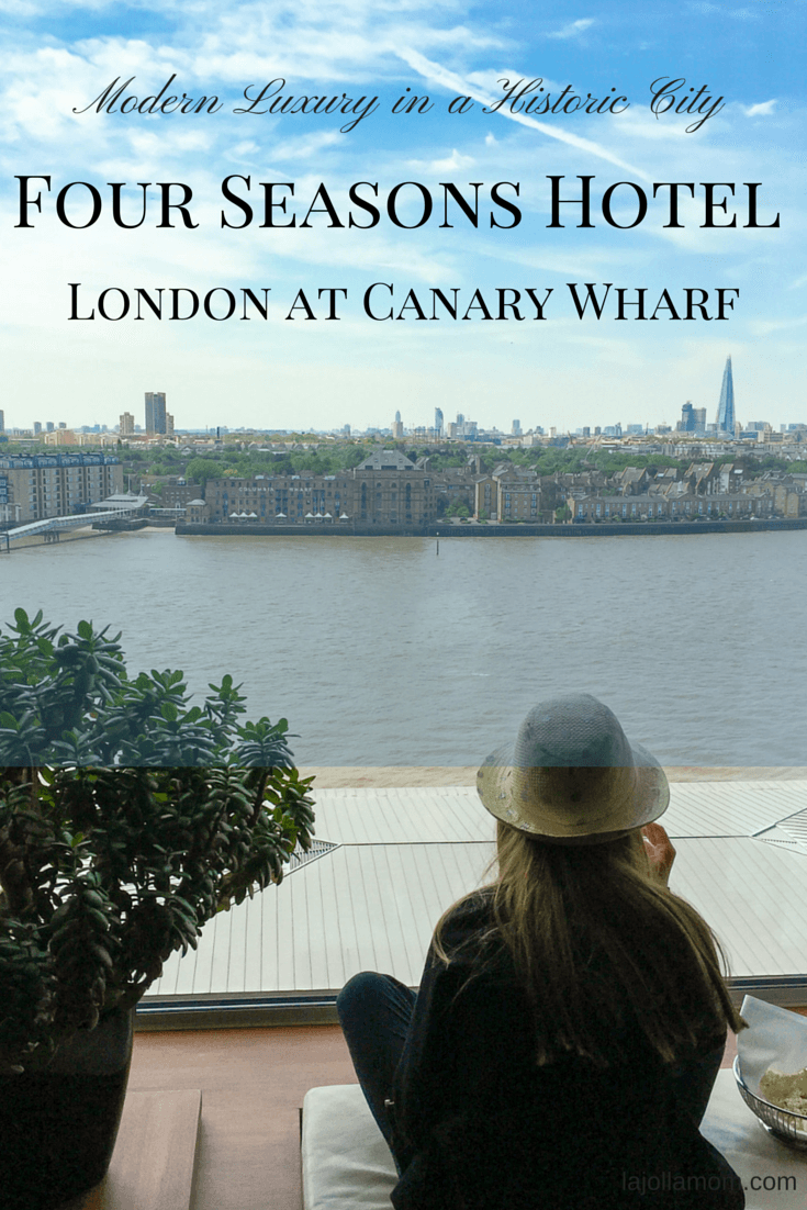 See why Four Seasons Hotel London at Canary Wharf is one of the best luxury hotels in London for kids.