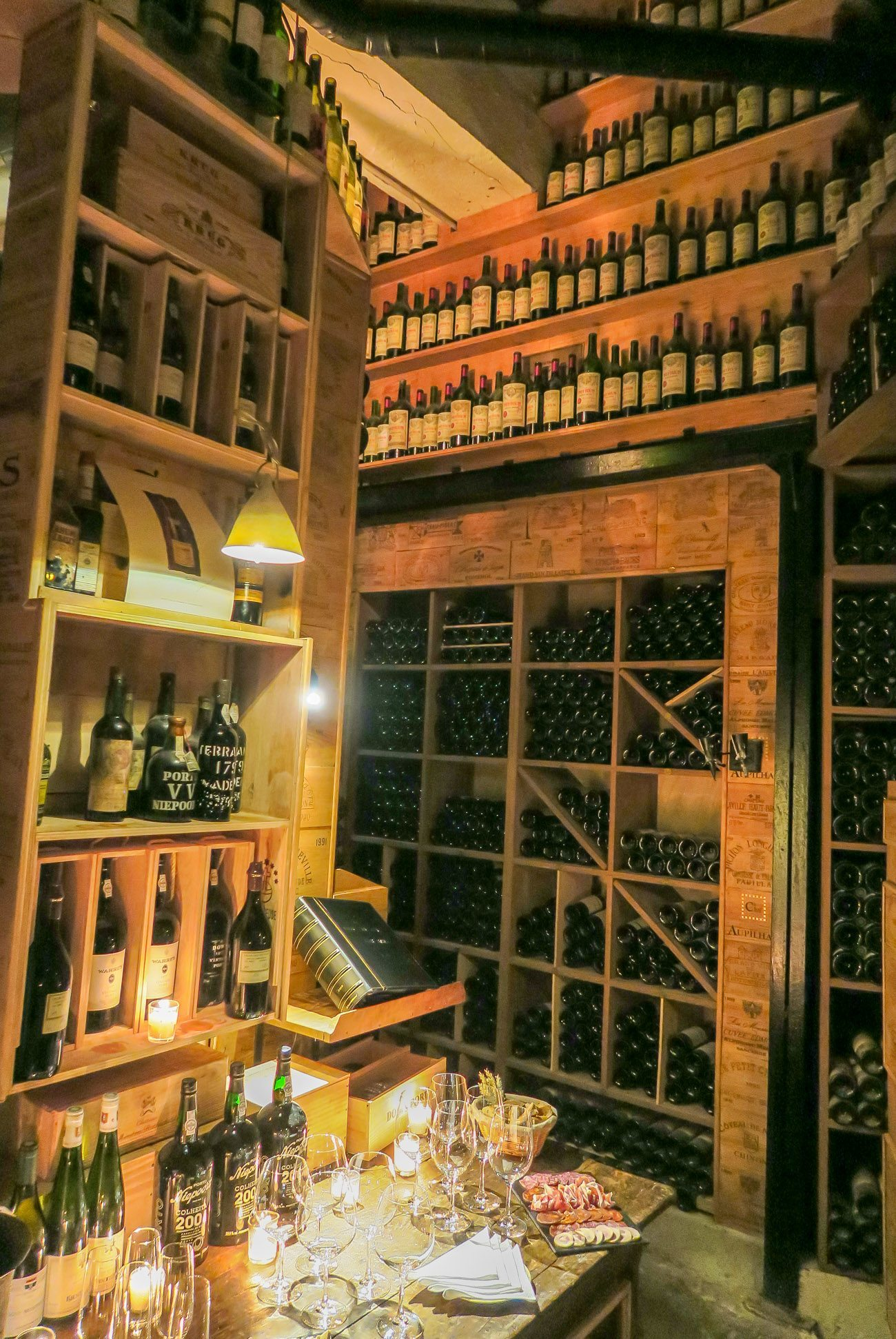 Guest of Four Seasons Hotel George V, Paris can sip the world's wine in the exclusive and historic cellar.