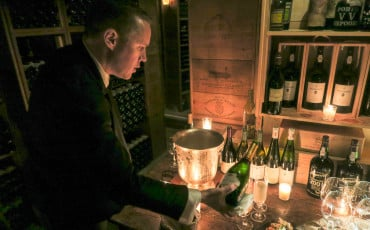 Guests of Four Seasons Hotel George V, Paris can taste the world's wine in the extraordinary wine cellar