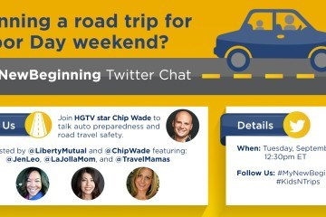 Join the Liberty Mutual KidsNTrips family travel Twitter party