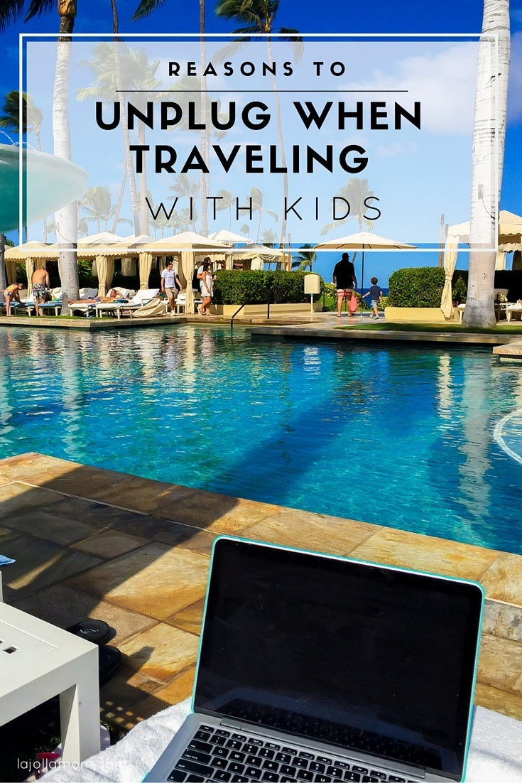Learn reasons why it's important to unplug on a family vacation, even if it's just for a day. #onedayoffline