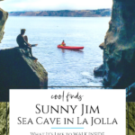 Sunny Jim is the only sea cave in California accessible by land through an over 100-year-old tunnel. It's one of La Jolla's best attractions.