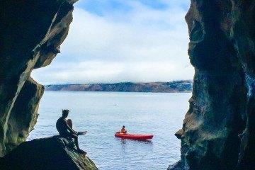 Take a journey into Sunny Jim's Sea Cave in La Jolla