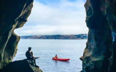 Take a journey into Sunny Jim's Sea Cave in La Jolla