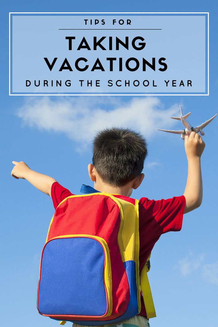 Taking a family vacation during the school year? Here's how we minimize school absences and keep up with school work when traveling.