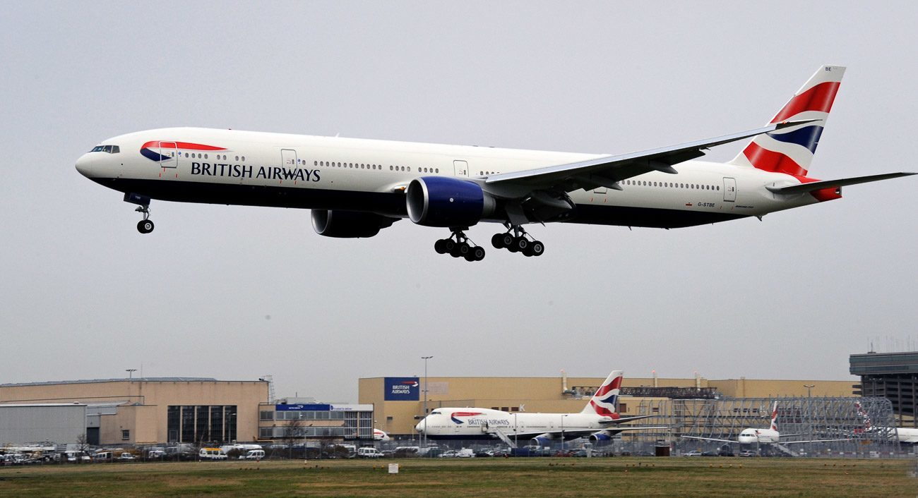 british airways announces new plane and first class from