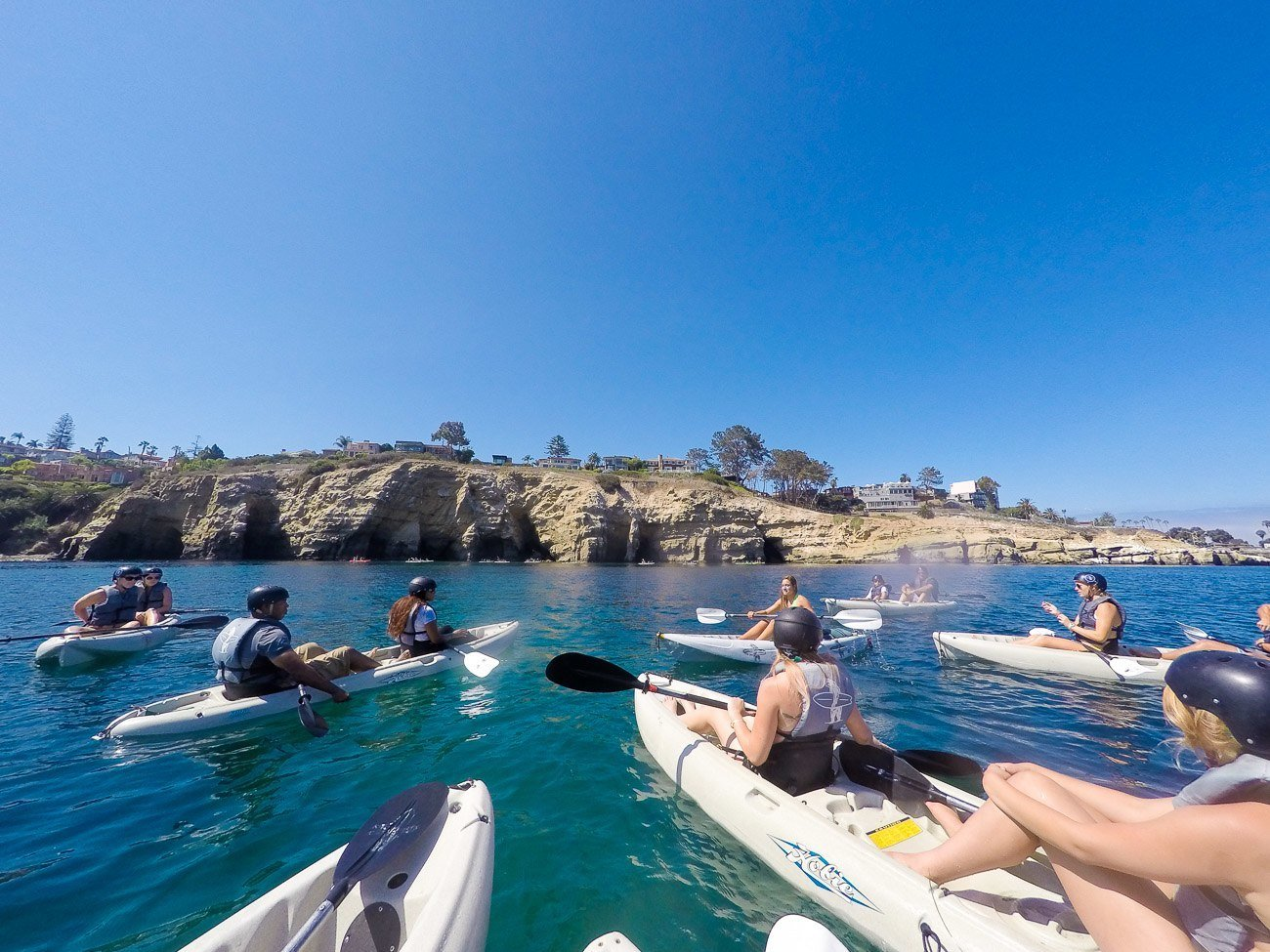 Go kayaking around the La Jolla Underwater Park with Everyday California