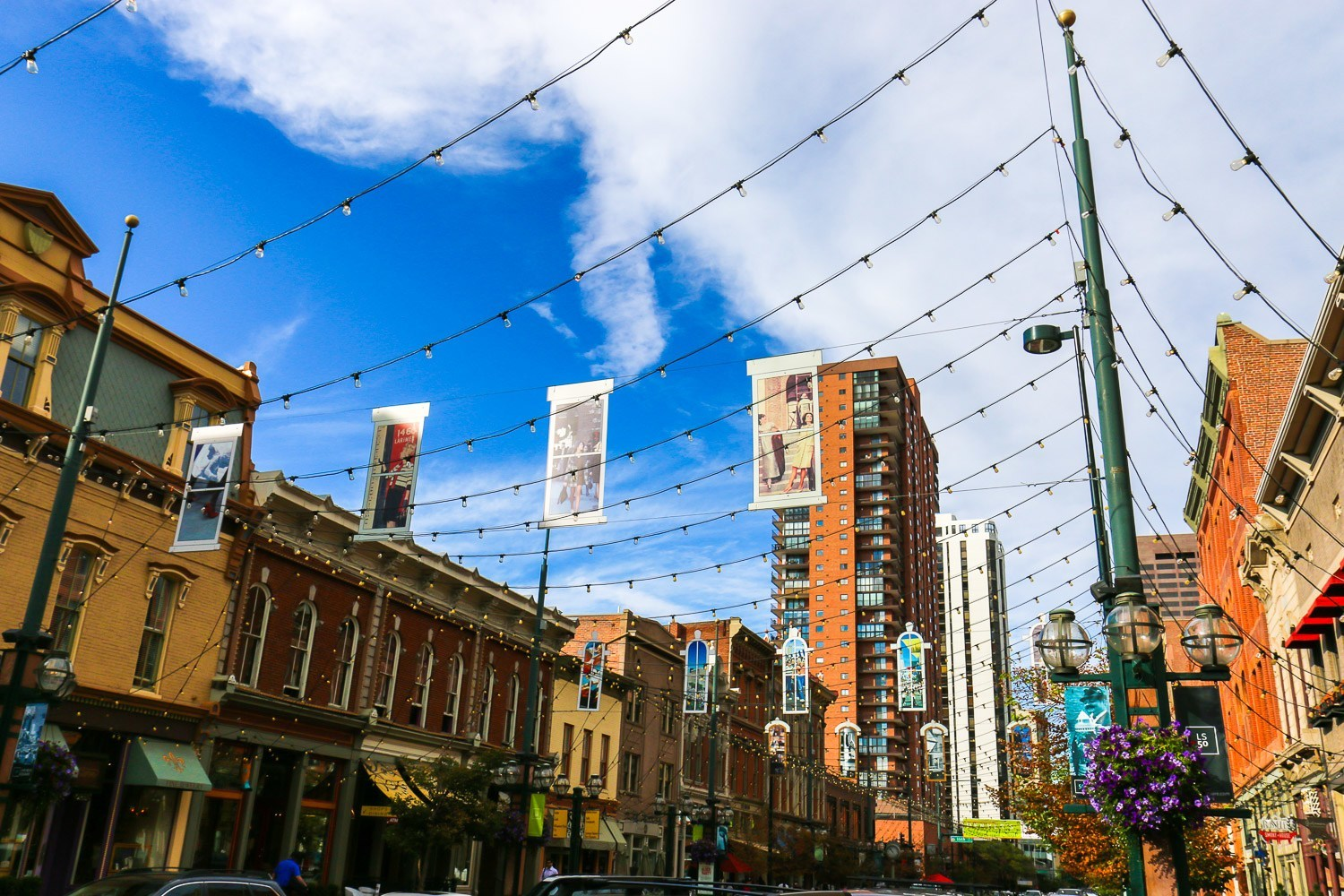 The historic Larimer Square shopping and restaurants are within a few blocks of Four Seasons Hotel Denver