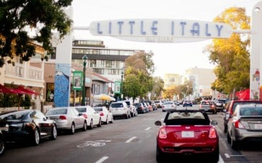 The Little Italy neighborhood in San Diego is the nation's largest.
