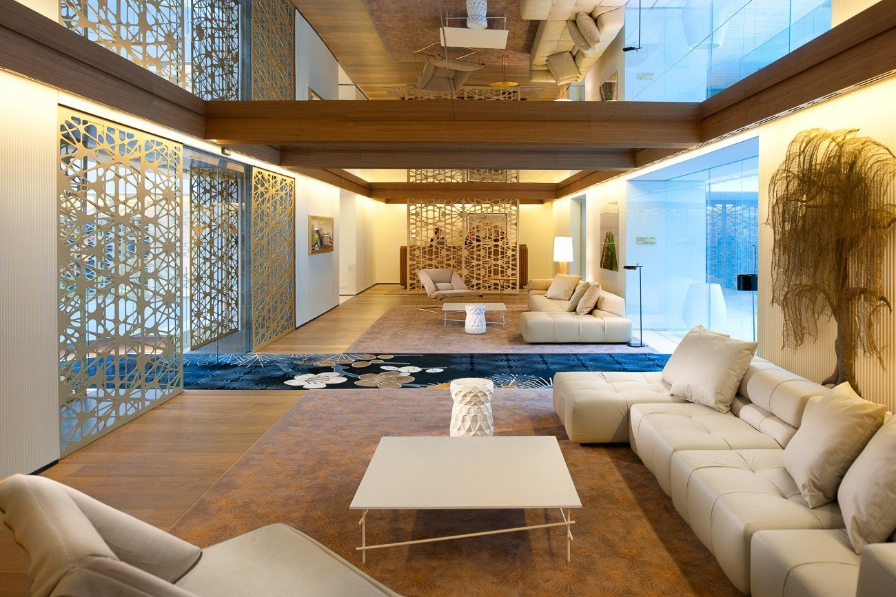 Mandarin Oriental, Barcelona's interiors were designed by famous Spanish designer Patricia Urquiola