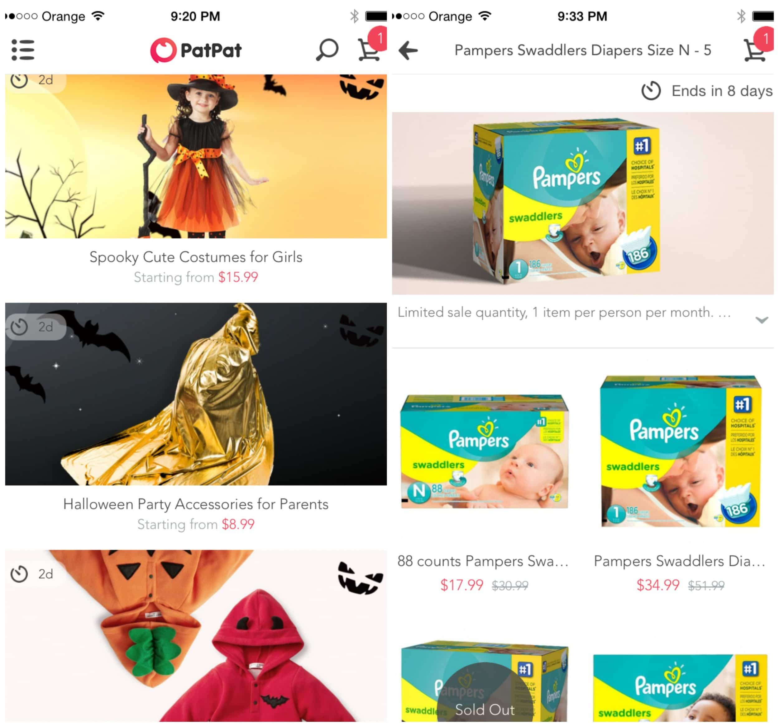patpat app for moms deals