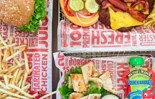 A New Better-For-You Kids' Meal Option at Smashburger
