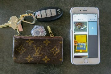 I use the XY Find It beacon and app to track where my keys are. Love it.