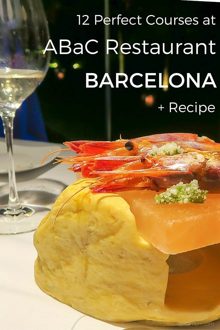 Review of two-Michelin-star ABaC Restaurant Barcelona--a 2015 TripAdvisor Traveler's Choice winner--plus a dessert recipe from Chef Jordi Cruz. #TraveltoTaste