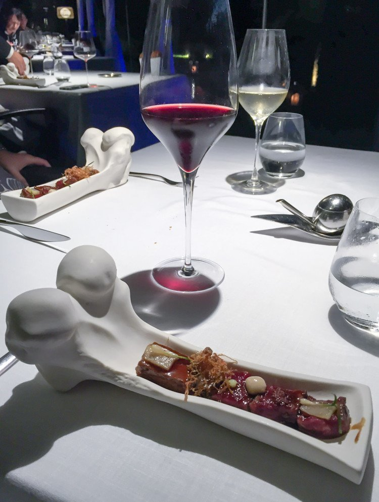 12 course excellence at abac restaurant in barcelona - Restaurant abac barcelona ...