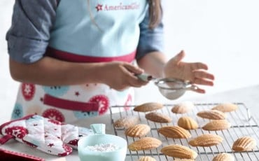 Williams-Sonoma is featuring an exclusive line of American Girl baking essentials for kids based on the Girl of the Year, Grace.