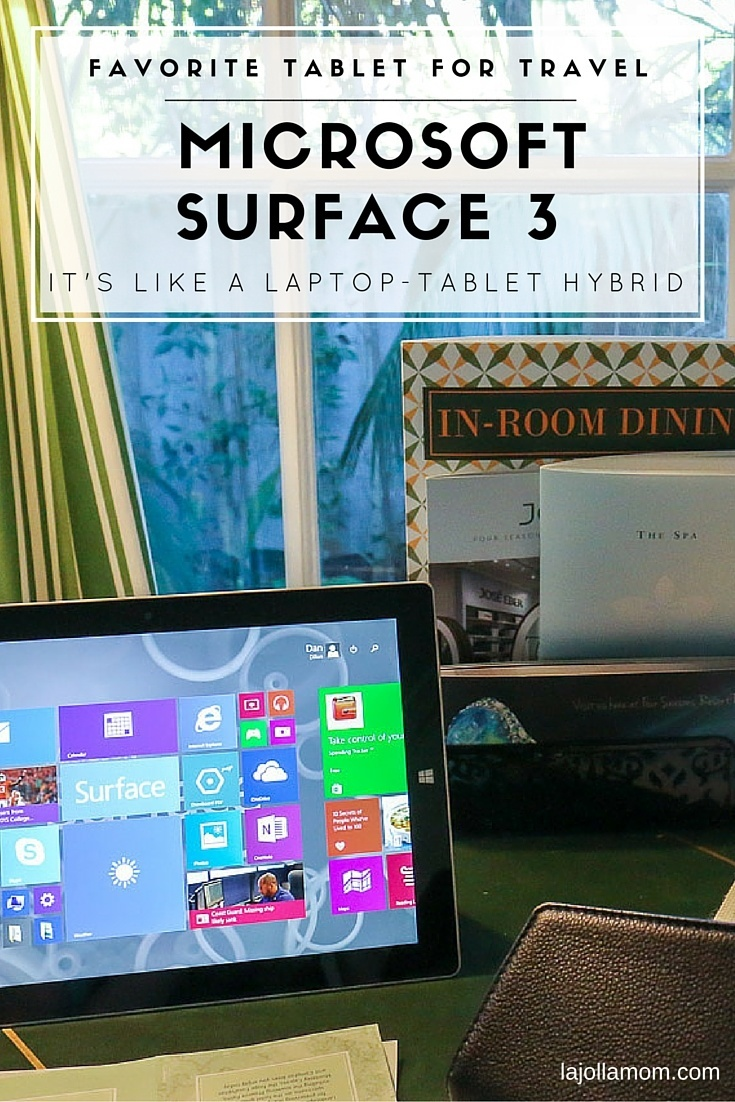 See why the Surface 3 is the best tablet for traveling. I honestly love it.