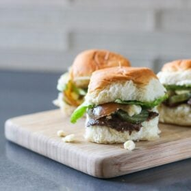Game Day Recipe: Blue Cheese and Onion Sliders