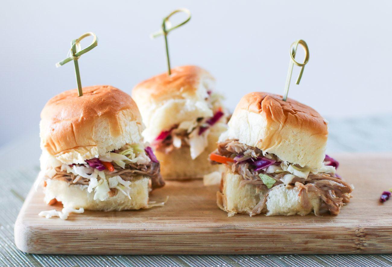 Easy Slow Cooker Pulled Pork Slider Recipe La Jolla Mom