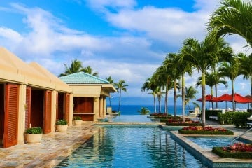 The Serenity pool at Four Seasons Resort Maui at Wailea is just for adults.