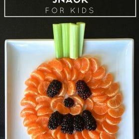 Kids Recipe: Jack-O-Lantern Healthy Halloween Snack