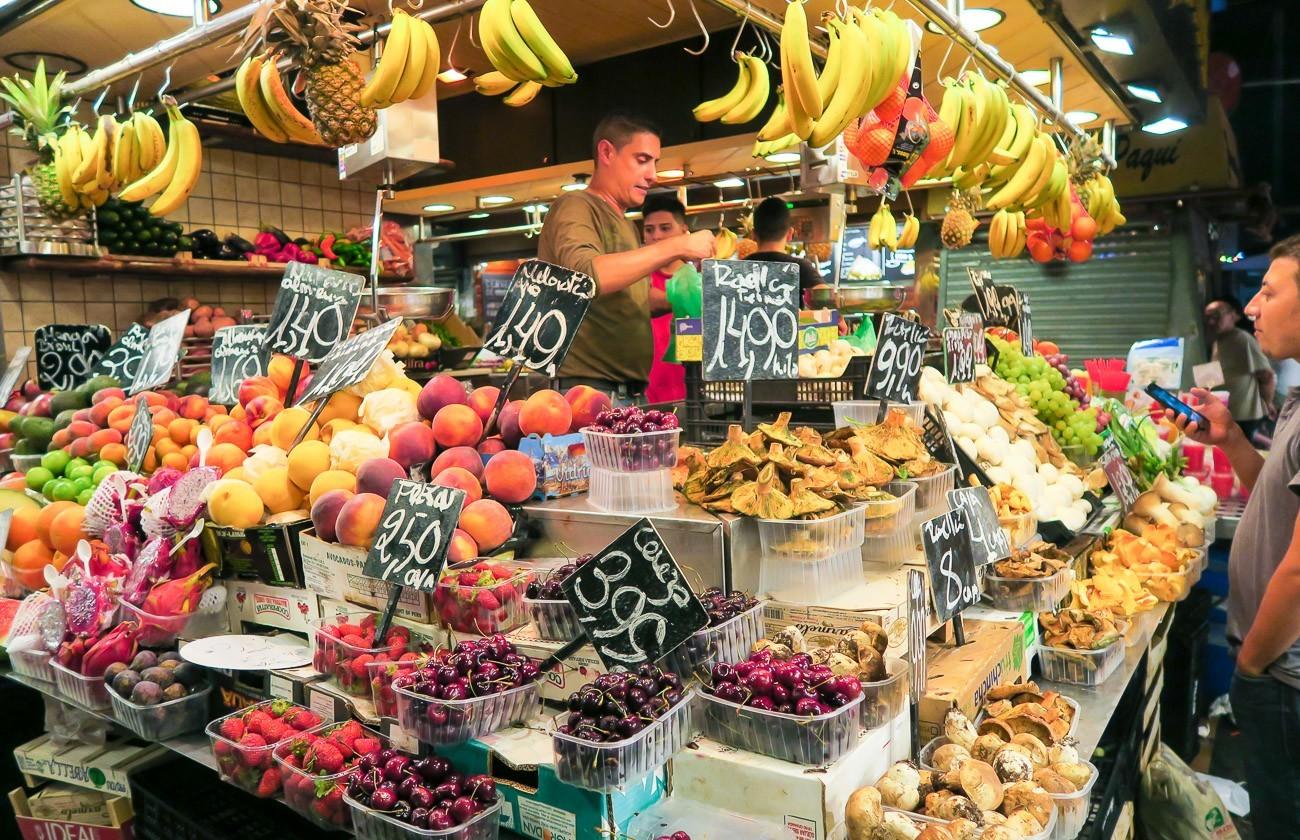 A Peek Inside Barcelona S Famous La Boqueria Market La