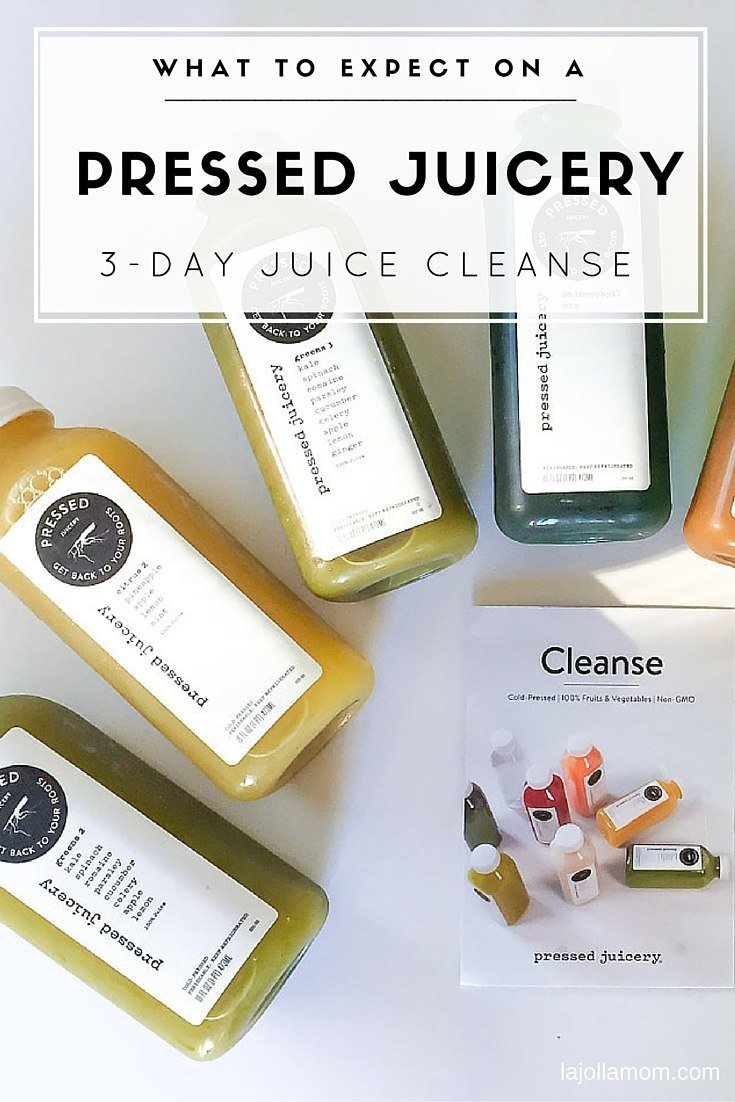 What to Expect on a Pressed Juicery 3-Day Cleanse - La Jolla Mom