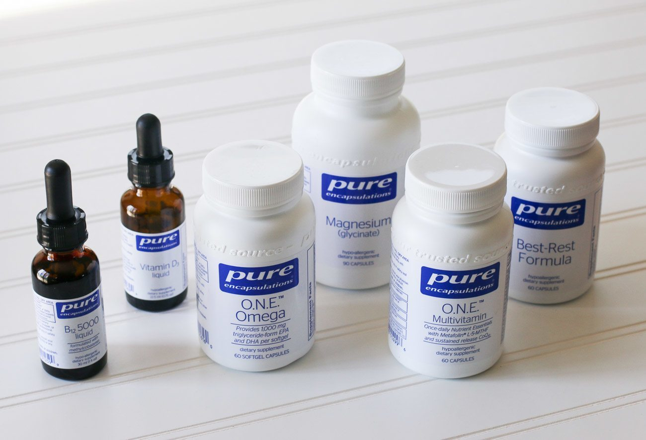 Choose vitamins with high quality ingredients like Pure Encapsulations