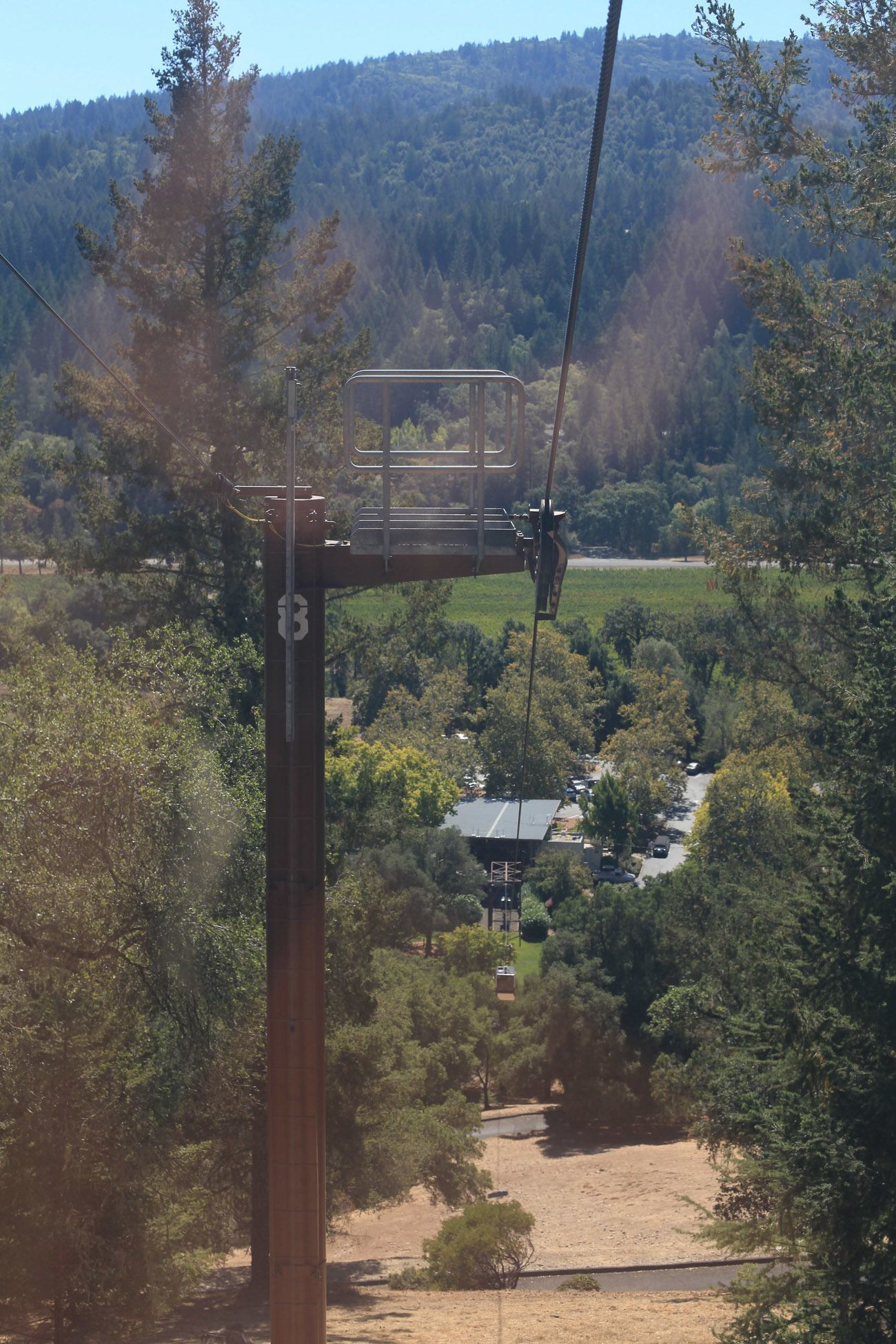 Sterling Vineyards in Napa Valley is the only winery to have an aerial tram!