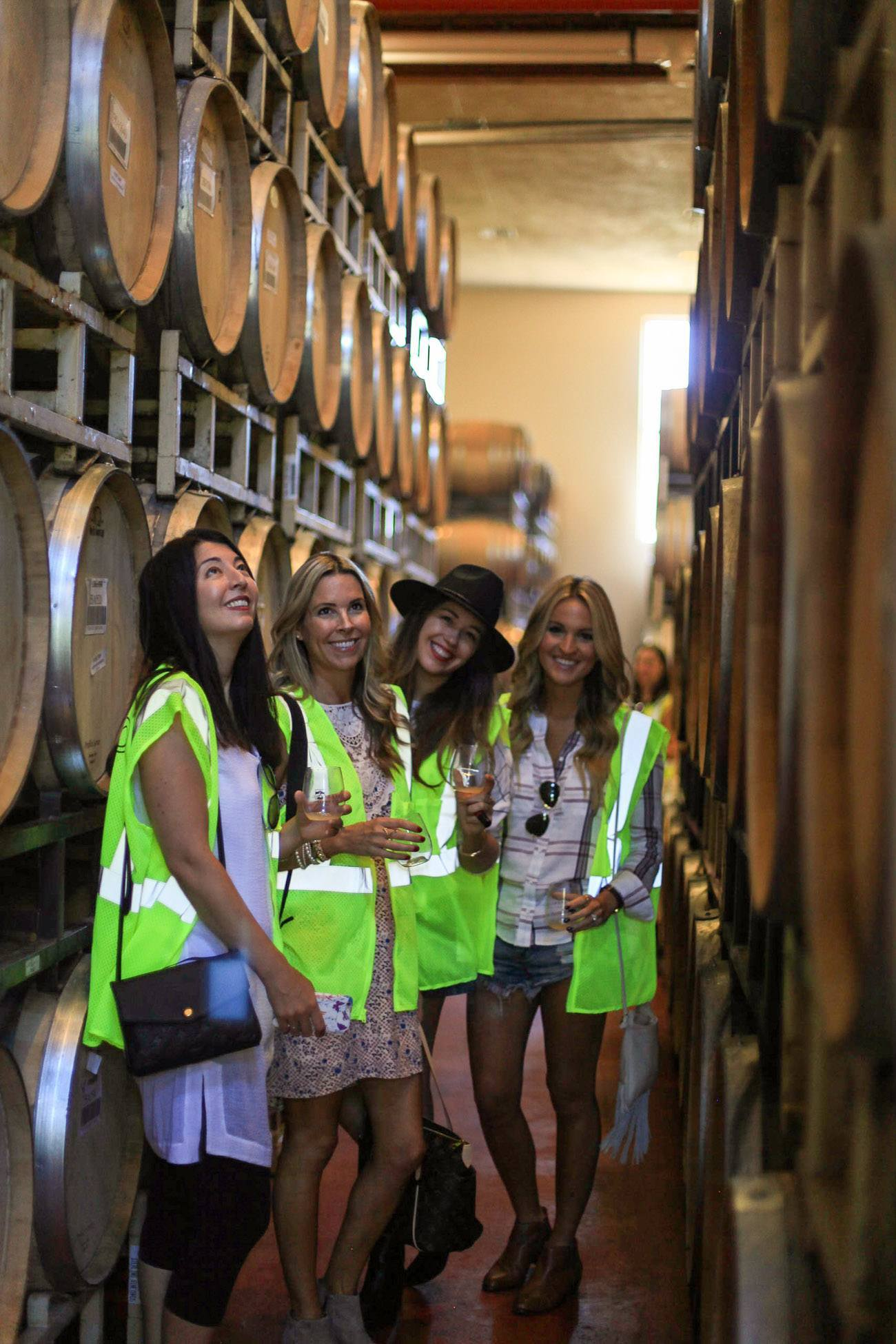 Barrel love at Sterling Vineyards in Napa Valley