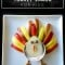 Kids Recipe: Turkey Fruit and Yogurt Snack for Thanksgiving